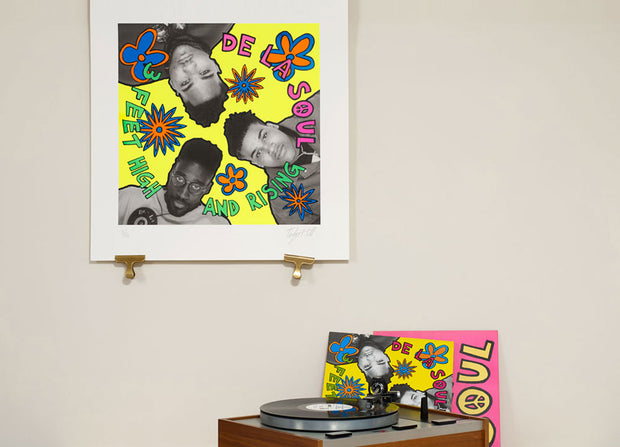 Scale photo of De La Soul album art print by Toby Mott