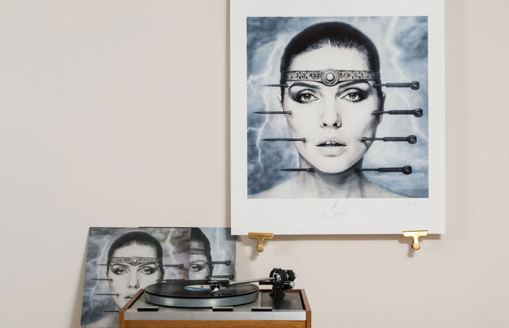 Scale Photo of Debbie Harry KooKoo inkjet print by HR Giger