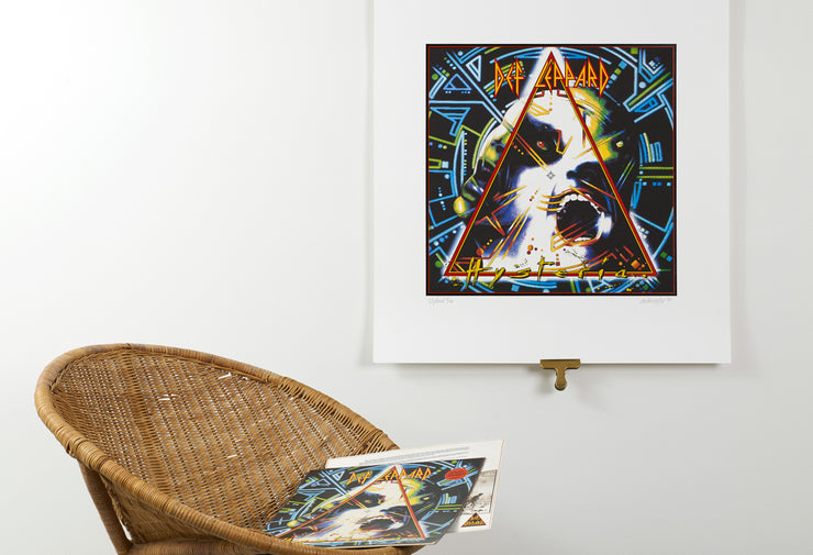 Scale photo of Def Leppard Hysteria album art print by Andie Airfix
