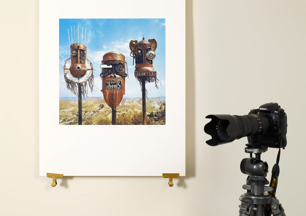 Scale photo of Ellis, Beggs and  Howard album art print by Storm Thorgerson