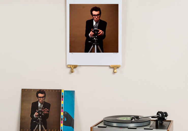 Scale photo of Elvis Costello photographic print by Chris Gabrin
