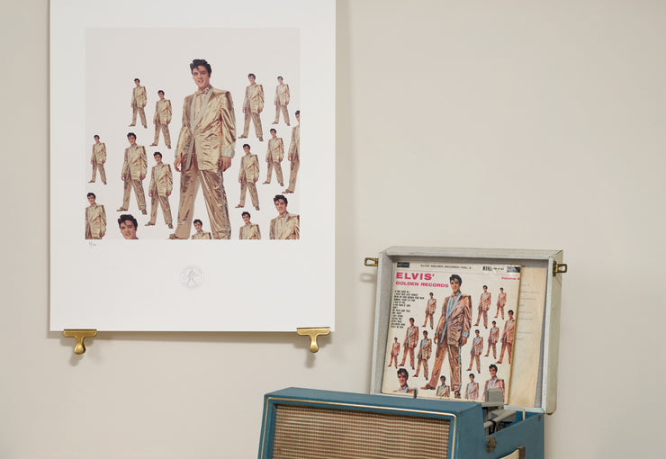Scale Photo of Elvis Presley™ inkjet print