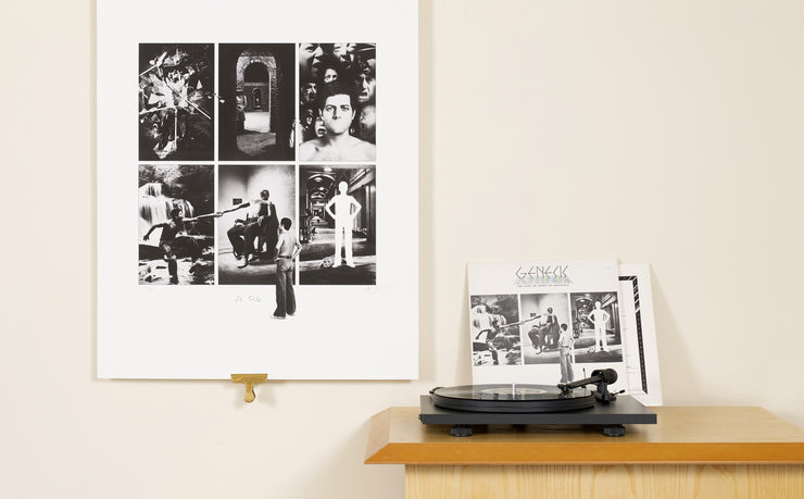 Scale photo of Genesis Lamb Lies Down art print by Storm Thorgerson