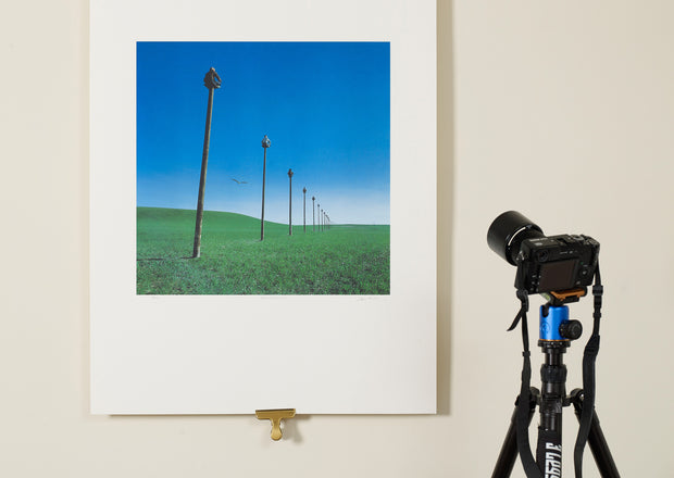 Scale photo of Gentlemen Without Weapons art print by Storm Thorgerson