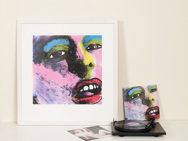 Scale photo of Happy Mondays Bummed art print by Central Station Design