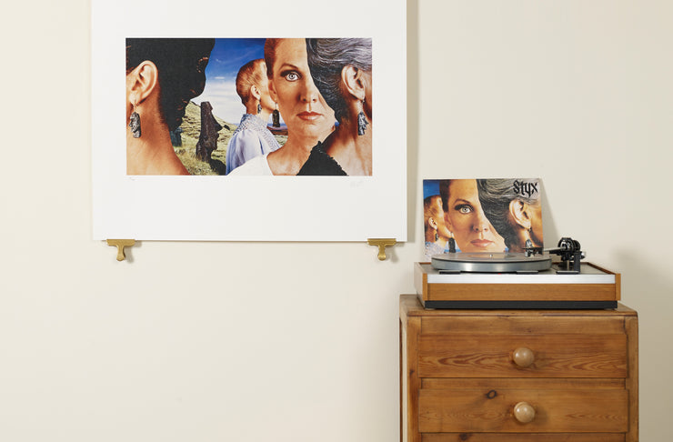Scale photo of Styx Pieces of Eight art print by Hipgnosis