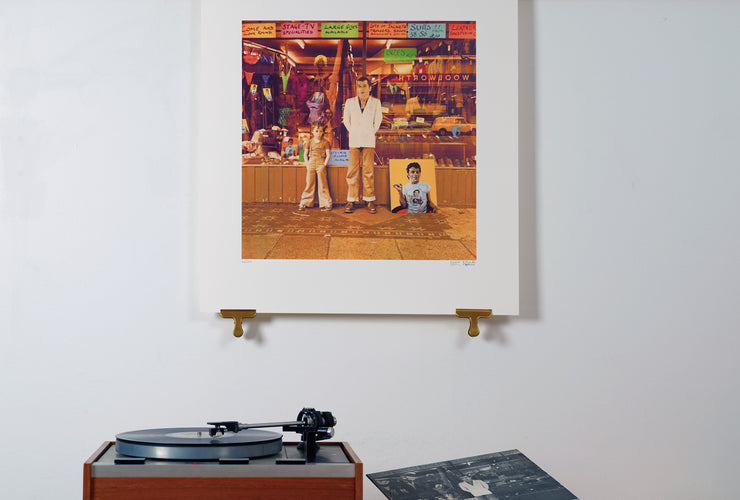 Scale photo of Ian Dury art print by Chris Gabrin / Sir Peter Blake