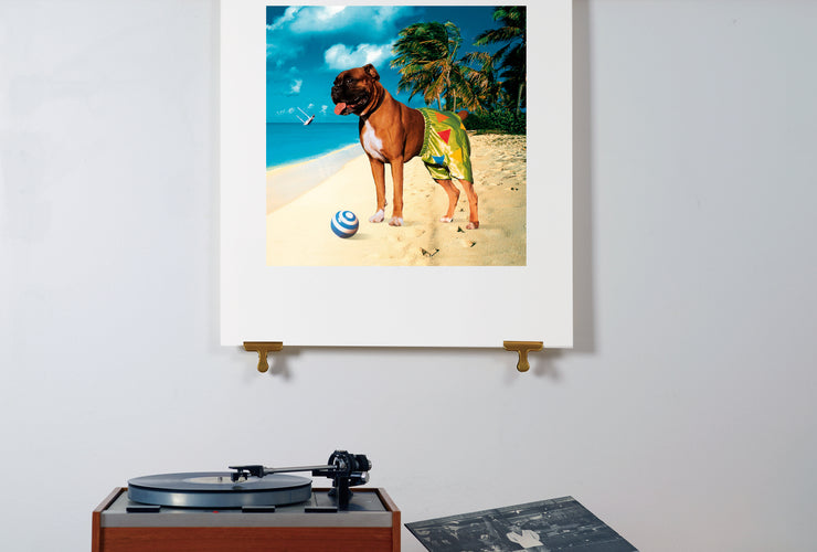 Scale photo of Ian Dury Mr Lovepants art print by Storm Thorgerson
