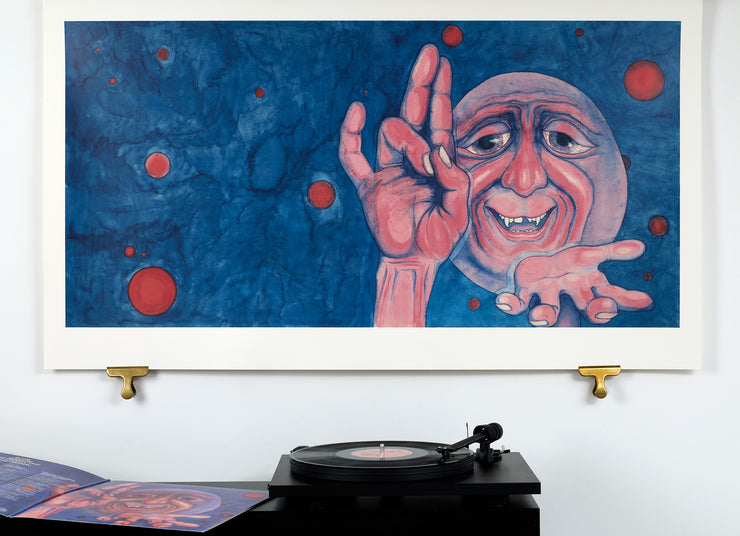 Scale photo of King Crimson limited edition art print