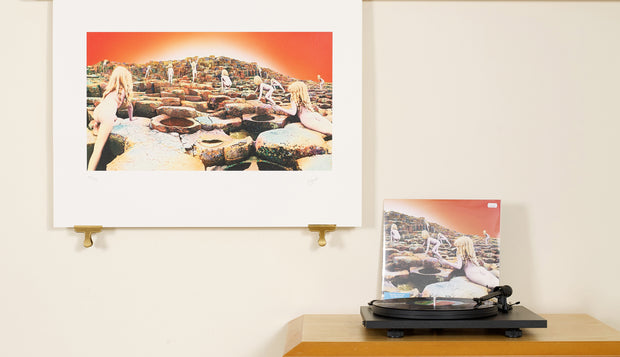 Scale photo of Led Zeppelin album art print by Hipgnosis