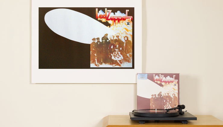 Led Zeppelin limited edition archival art print