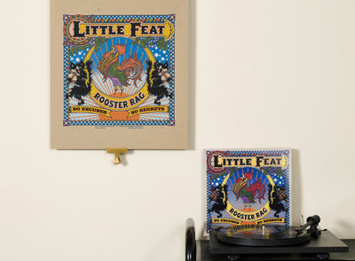 Scale photo of Voodoo Catbox silkscreen for Little Feat