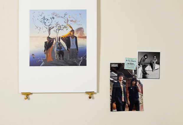 Scale photo of The Mars Volta Televators art print by Storm Thorgerson