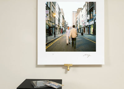 Scale photo of Oasis (What's The Story) Morning Glory? by Michael Spencer Jones Limited Edition Album Cover Art Print