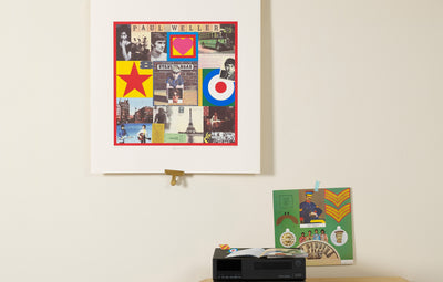 Scale photo of Paul Weller Stanley Road art print by Peter Blake