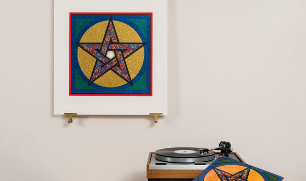 Scale photo of Pentangle Sweet Child art print by Peter Blake