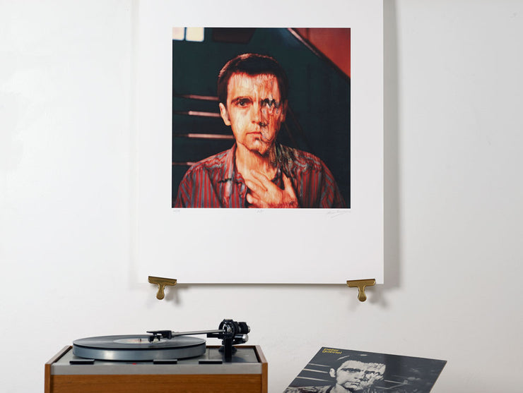 Scale photo of Peter Gabriel album cover art by Hipgnosis