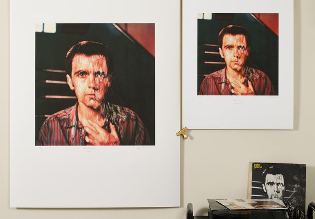 Scale photo of Peter Gabriel album art print by Hipgnosis