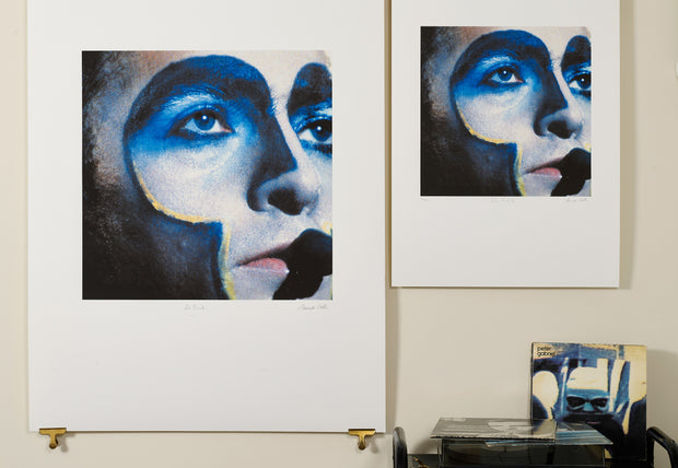 Scale photo of Peter Gabriel album art print by Armando Gallo