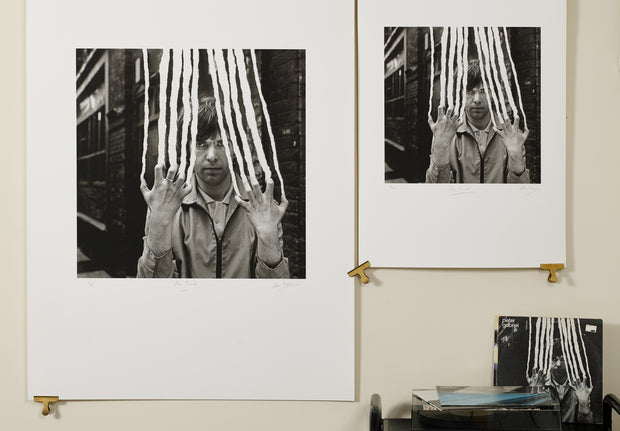 Scale photo of Peter Gabriel Scratch art print by Hipgnosis