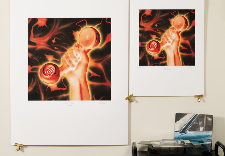 Scale photo of Peter Gabriel Secret World Live art print by Danny Jenkins