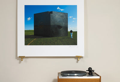 Scale Photo of Pink Floyd Chip Off The Old Block inkjet print by Storm Thorgerson