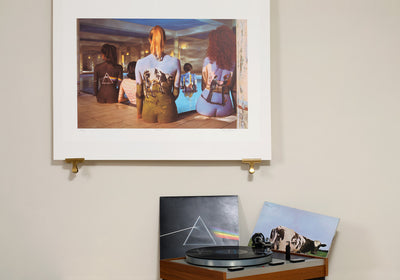 Scale photo of  Pink Floyd Back Catalogue art print by Storm Thorgerson