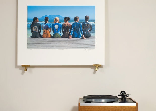 Scale photo of Storm Thorgerson Back Catalogue art print