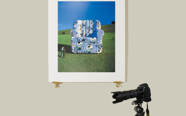 Scale photo of Pink Floyd limited edition print by Storm Thorgerson