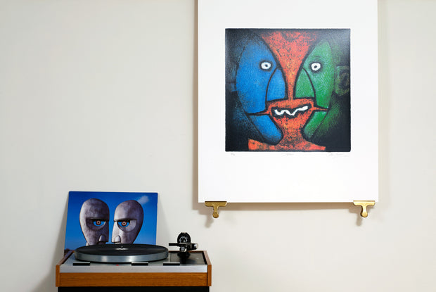 Scale Photo of Pink Floyd Division Bell rough by Storm Thorgerson inkjet print