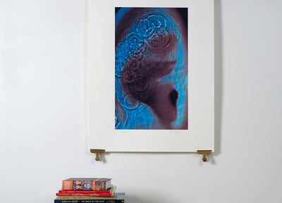 Scale photo of Pink Floyd Meddle album art print by Hipgnosis