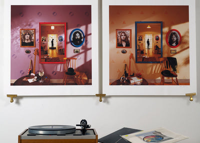 Scale photo of Pink Floyd Oh By The Way art prints by Storm Thorgerson