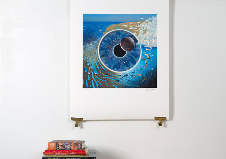 Scale photo of Pink Floyd Pulse art print by Storm Thorgerson