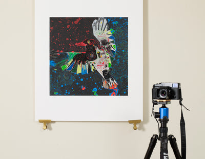 Scale photo of Powderfinger art print by Storm Thorgerson