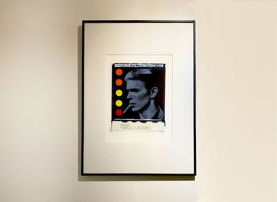 Framed David Bowie art print by Gray
