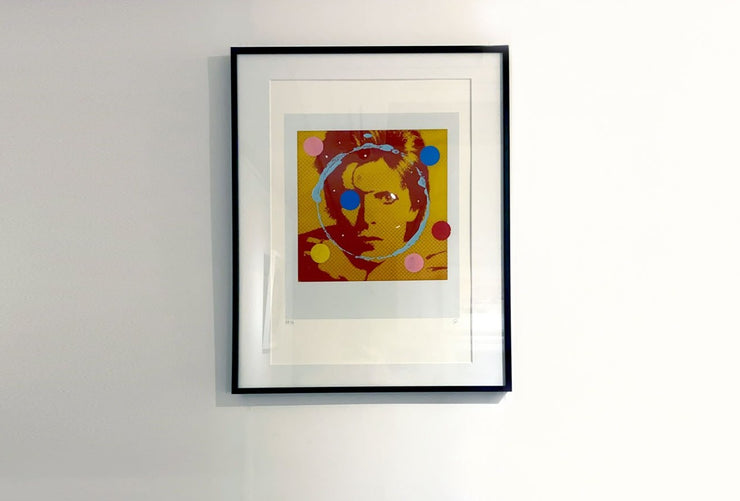 David Bowie framed print by Gray