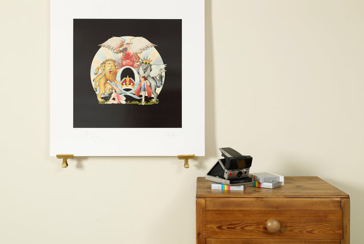 Scale Photo of Queen Day at the Races limited edition print