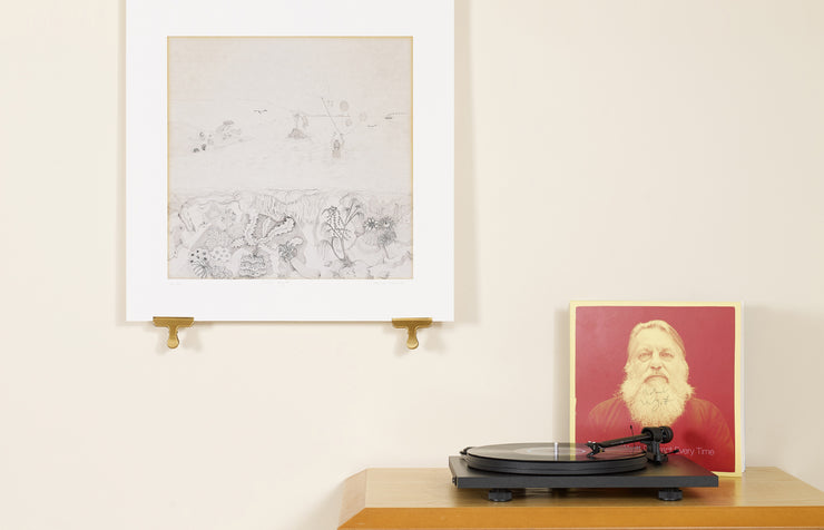Scale photo of Robert Wyatt Rock Bottom limited edition inkjet print