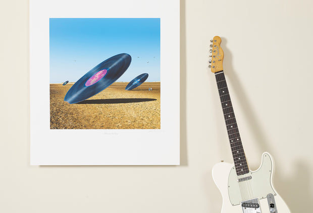 Scale Photo of Steve Miller Band album art print by Storm Thorgerson