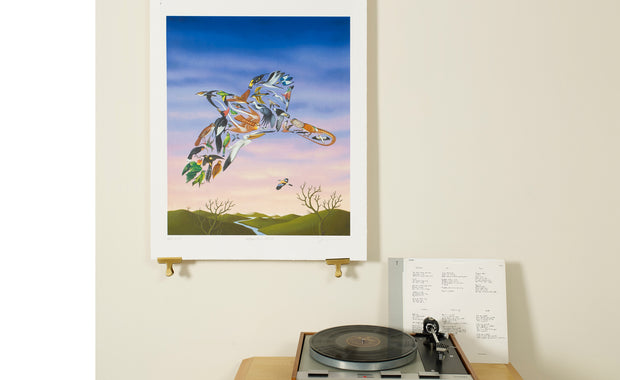Scale Photo of Talk Talk After The Flood album cover art print by James Marsh inkjet print