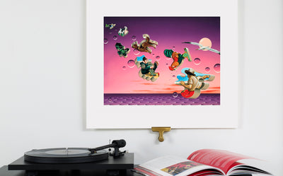 Scale Photo of Talk Talk It's My Life album cover art print by James Marsh inkjet print