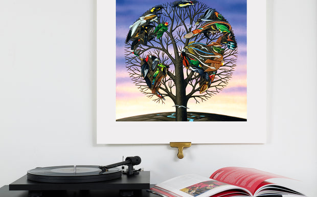 Scale Photo of Talk Talk Laughing Stock album cover art print by James Marsh inkjet print