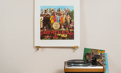 Scale photo of The Beatles Sgt Peppers Lonely Heart Club Band art print by Peter Blake