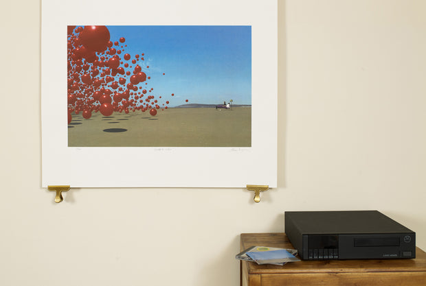 Scale photo of Cranberries art print by Storm Thorgerson