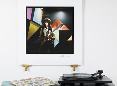 Scale photo of Keith Richards photo print by (c) Michael Spencer Jones