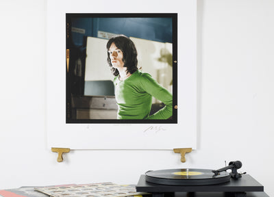 Scale photo of Mick Jagger archival inkjet print by Michael Spencer Jones