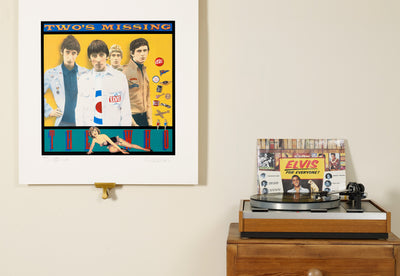 Scale photo of The Who Twos Missing art print by Richard Evans