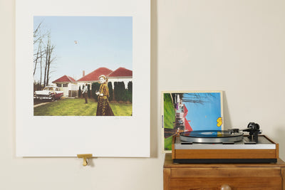 Scale photo of UFO Phenomenom art print by Hipgnosis