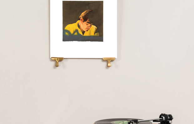 Scale photo of Peter Blake Brian Wilson Bookie for Ian Stewart art print