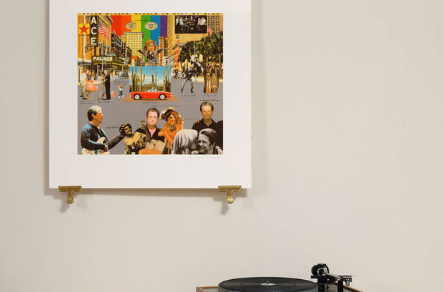 Scale photo of Brian Wilson album cover art print by Sir Peter Blake